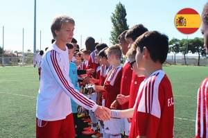 Юношеский турнир по футболу в испании